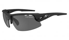 Tifosi Crit Sunglasses - Matte Black / Smoke + AC Red + Clear