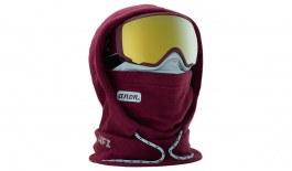 Anon Women's MFI Fleece Helmet Hood - Purple