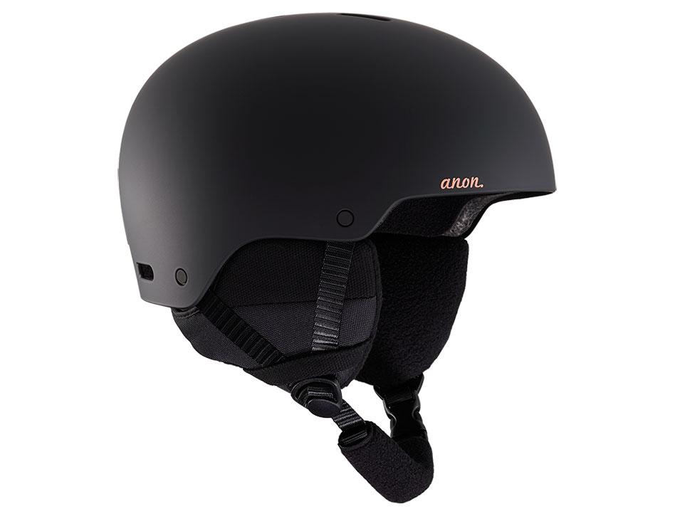 Anon Greta 3 Ski Helmet - Black