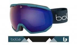 Bolle Northstar Prescription Ski Goggles - Matte Petrol Blue / Bronze Blue