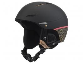 Bolle Juliet Ski Helmet - Black Rose Gold