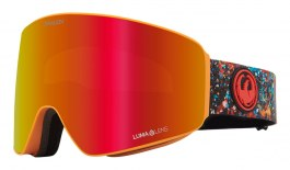 Dragon PXV Ski Goggles - Bryan Iguchi Signature / Lumalens Red Ion + Lumalens Light Rose