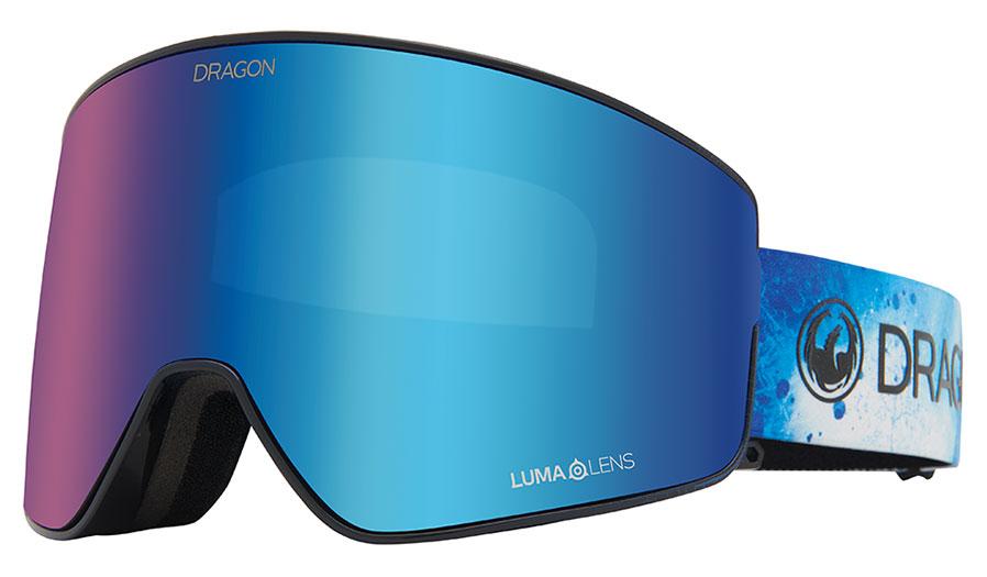 Dragon PXV2 Ski Goggles - Permafrost / Lumalens Blue Ion + Lumalens Amber