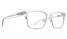 SPY Weston 50/50 Glasses - Crystal Matte Silver - Essilor Lenses