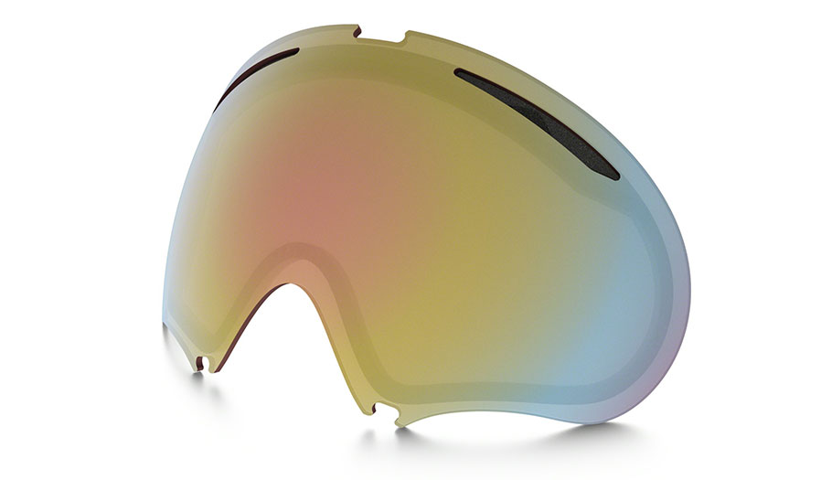 Oakley A Frame 2.0 Ski Goggles Replacement Lens Kit - VR50 Pink Iridium
