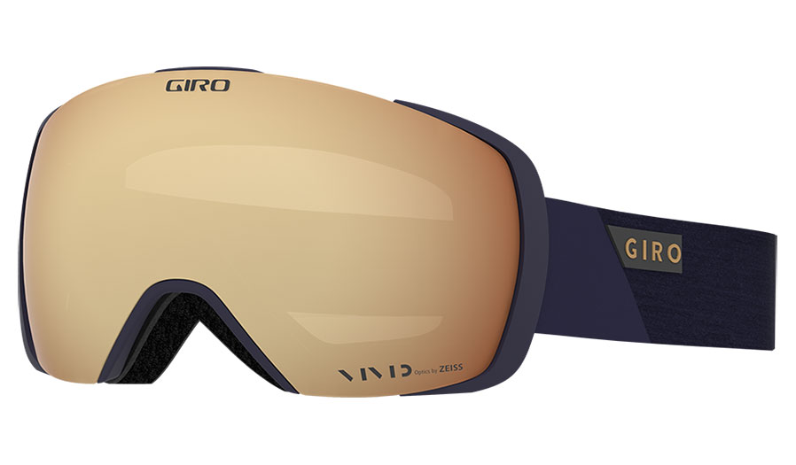 Giro Contact Ski Goggles - Midnight Peak / Vivid Copper + Vivid Infrared