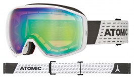 Atomic Count Ski Goggles - White / Green Stereo HD