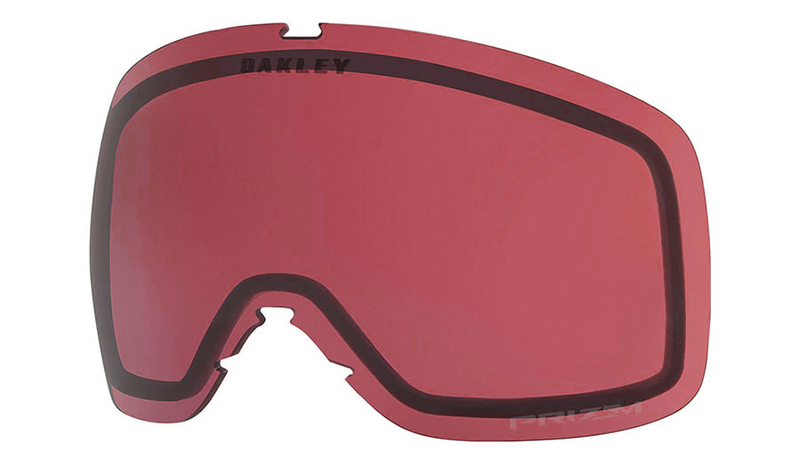 Oakley Flight Tracker XS Ski Goggles Replacement Lens Kit - Prizm Dark Grey