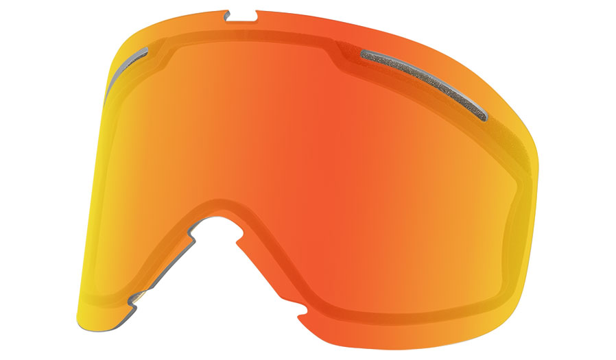 Oakley O Frame 2.0 Pro XL Ski Goggles Replacement Lens Kit - Fire Iridium