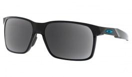 Oakley Portal X Prescription Sunglasses - Polished Black (Blue Icon)