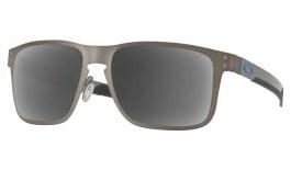 Oakley Holbrook Metal Prescription Sunglasses - Matte Gunmetal (Blue Icon)