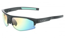 Bolle Bolt 2.0 S Sunglasses - Matte Crystal Black / Phantom Clear Green Photochromic
