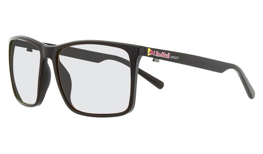 Red Bull Bow Prescription Sunglasses - Shiny Black