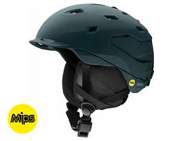 Smith Quantum MIPS Ski Helmet - Matte Deep Forest
