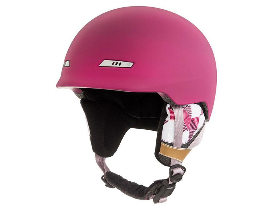 Roxy Angie SRT Ski Helmet - Beet Red