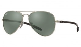 Ray-Ban RB8317CH Prescription Sunglasses - Silver