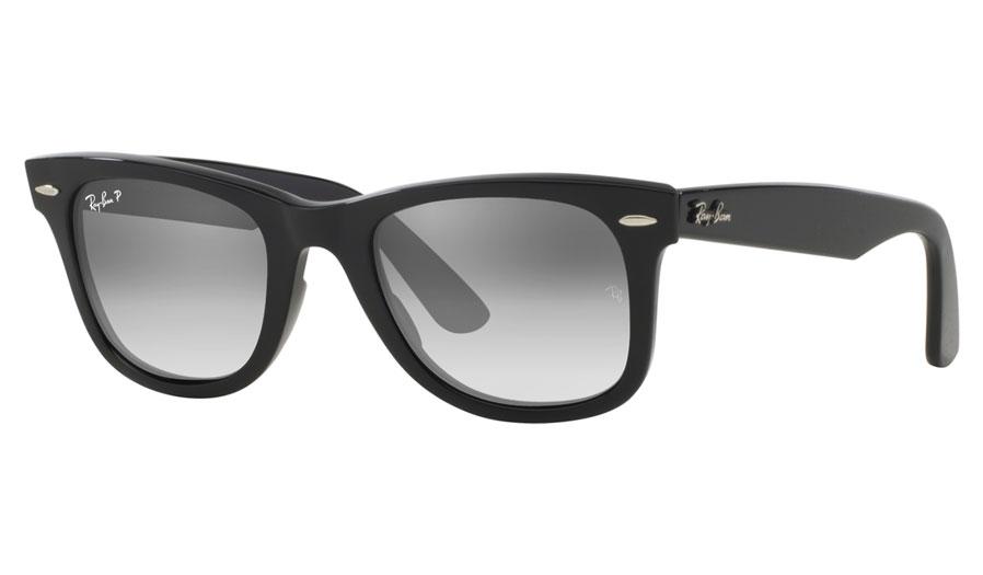 f2a7e513a Ray-Ban RB2140 Original Wayfarer Prescription Sunglasses - Black - RxSport