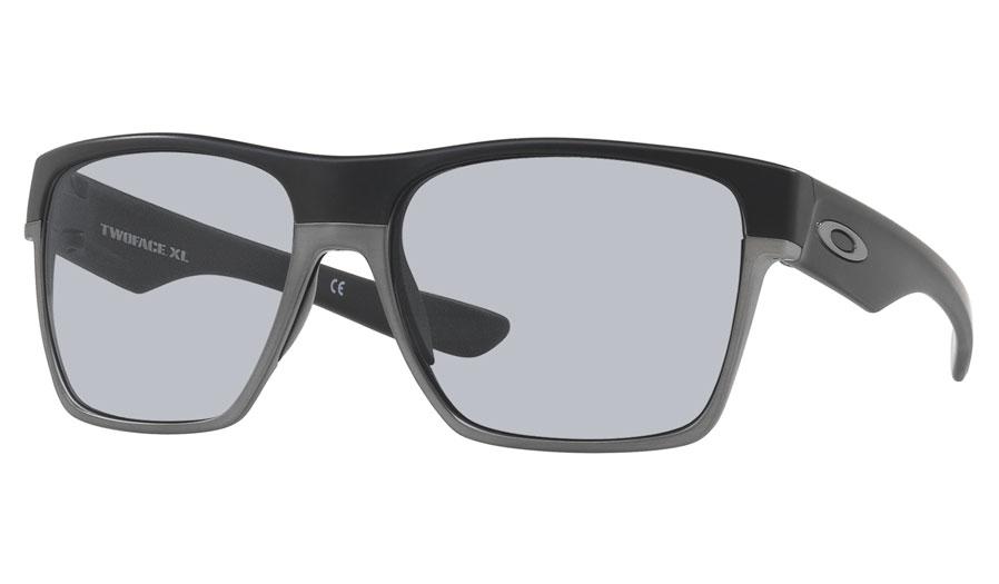 ee5a9554bc Oakley TwoFace XL Prescription Sunglasses - Matte Black (Grey Wire ...