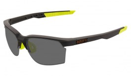 100% Sportcoupe Prescription Sunglasses - Soft Tact Cool Grey