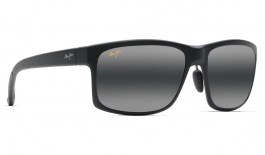 Maui Jim Pokowai Arch Prescription Sunglasses - Matte Black