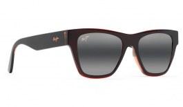 Maui Jim Ekolu Prescription Sunglasses - Brown, Red & Tan