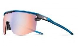 Julbo Ultimate Prescription Sunglasses - Clip-On Insert - Matte Blue & Black / Reactiv Performance 1-3 High Contrast Photochromic