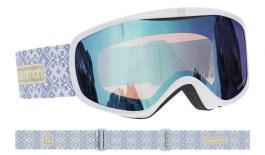 Salomon Sense Prescription Ski Goggles - White / Low Light Blue
