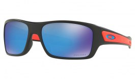 Oakley Turbine XS Sunglasses - Matte Black / Prizm Sapphire