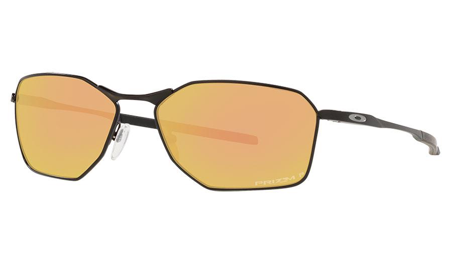 Oakley Savitar Sunglasses - Satin Black / Prizm Rose Gold Polarised