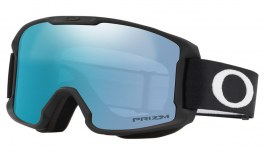 Oakley Line Miner Youth Ski Goggles - Matte Black/ Prizm Sapphire Iridium
