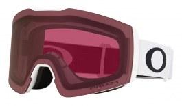 Oakley Fall Line XM Prescription Ski Goggles - Matte White / Prizm Dark Grey