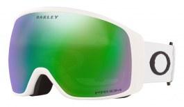 Oakley Flight Tracker XL Ski Goggles - Matte White / Prizm Jade Iridium