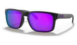 Oakley Holbrook Sunglasses - Matte Black / Prizm Violet