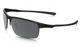 Oakley Carbon Blade Sunglasses - Matte Carbon / Black Iridium Polarised