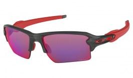 Oakley Flak 2.0 XL Sunglasses - Matte Grey Smoke / Prizm Road