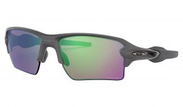 Oakley Flak 2.0 XL Sunglasses - Steel / Prizm Road Jade