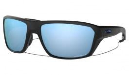 Oakley Split Shot Sunglasses - Matte Black / Prizm Deep Water Polarised