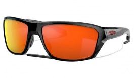 Oakley Split Shot Sunglasses - Polished Black / Prizm Ruby Polarised