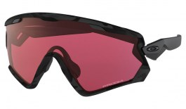 Oakley Wind Jacket 2.0 Ski Sunglasses - Night Camo / Prizm Snow Torch