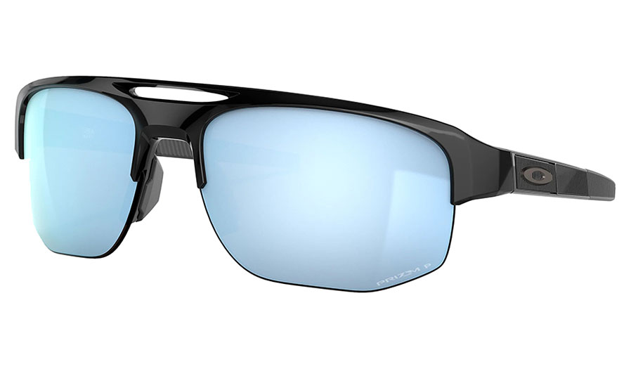 Oakley Mercenary Sunglasses - Polished Black / Prizm Deep Water Polarised