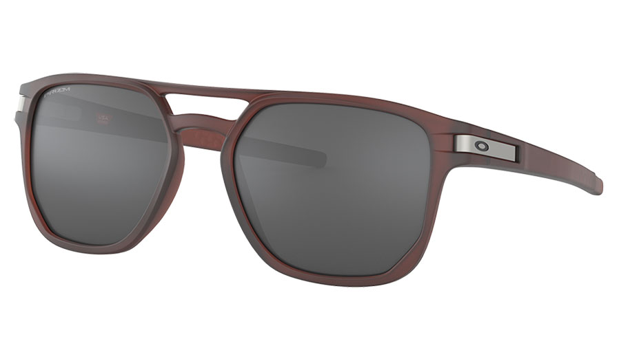 Oakley Latch Beta Sunglasses - Matte Rootbeer / Prizm Black