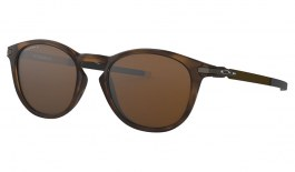 Oakley Pitchman R Sunglasses - Polished Brown Tortoise / Prizm Tungsten Polarised
