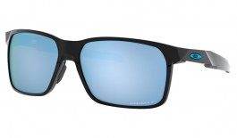 Oakley Portal X Sunglasses - Polished Black / Prizm Deep Water Polarised