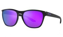 Oakley Manorburn Sunglasses - Matte Black / Prizm Violet