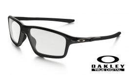 Oakley Crosslink Zero Prescription Glasses - Satin Black Reflective - Oakley Lenses