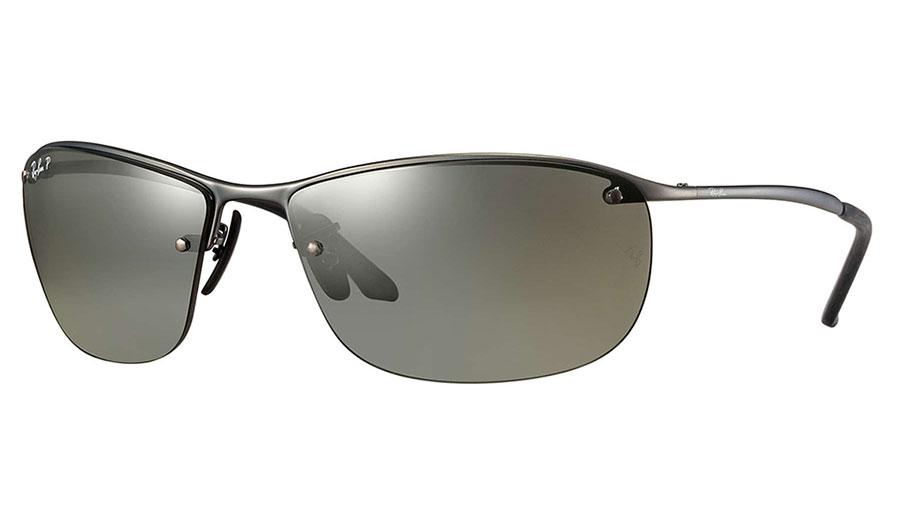 5d25a57f9c ray ban rb3542 sunglasses gunmetal silver mirror chromance polarised.  RXSPORT