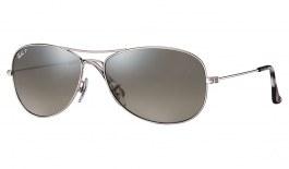 Ray-Ban RB3562 Sunglasses - Silver / Silver Mirror Chromance Polarised