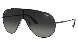 Ray-Ban RB3597 Wings Sunglasses - Black / Grey Gradient