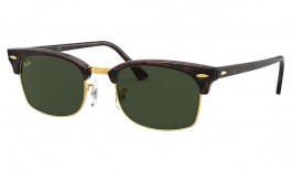 Ray-Ban RB3916 Clubmaster Square Sunglasses - Havana / Green