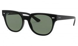 Ray-Ban RB4368N Blaze Meteor Sunglasses - Black / Green